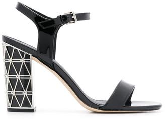 MICHAEL Michael Kors Beekman embellished heel sandals