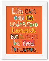 "Art.com Life"" Framed Art Print by Helen Dardik"