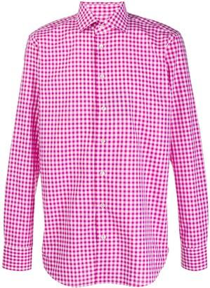 Etro gingham shirt
