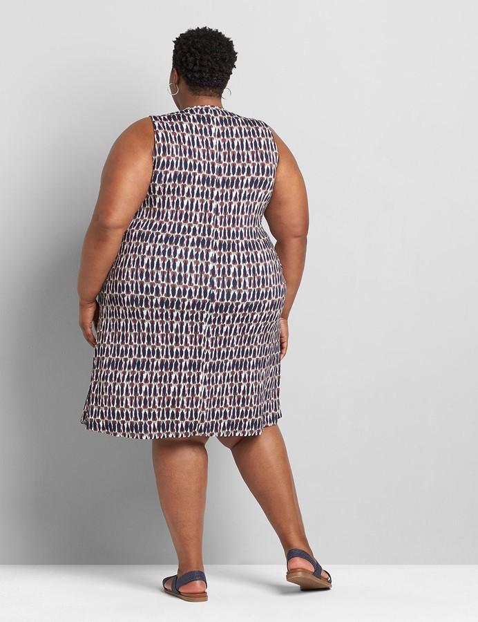 Thumbnail for your product : Lane Bryant Sleeveless Swing Dress Dress