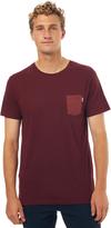 rhythm Basic Mens T Shirt Red