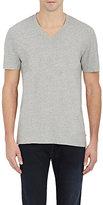 James Perse Men's V-Neck T-Shirt-GREY, LIGHT GREY