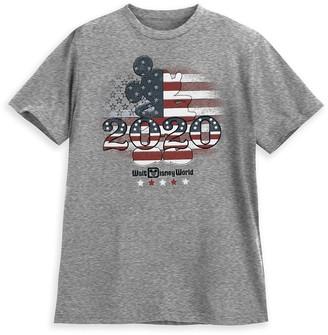 Disney Mickey Mouse Americana T-Shirt for Adults Walt World 2020