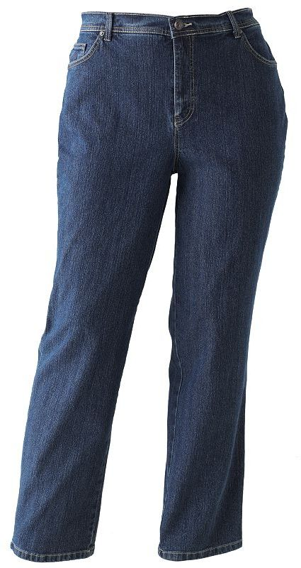 Gloria Vanderbilt amanda tapered jeans - women's plus