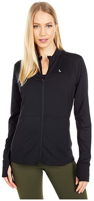 Lole Eliana Cardigan Jacket (Black) Women's Clothing
