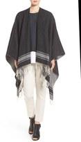 Eileen Fisher Women's Wool Blend Serape Wrap