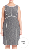 Lafayette 148 New York Mariana Cotton Knee Length Dress