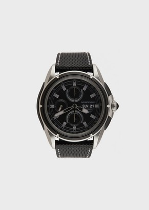 Emporio Armani Men'S Swiss Made Limited Edition Sport Chronograph