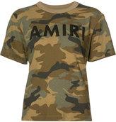Amiri camoflage T-shirt