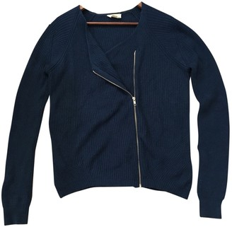 American Vintage Navy Cotton Knitwear for Women