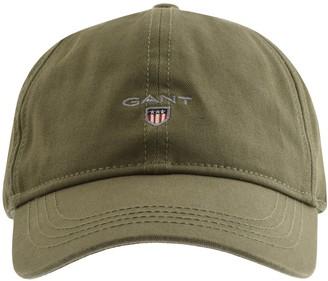 Gant Twill Cap Green