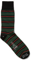 Corgi Royal Gurkha Rifles Striped Cotton-Blend Socks