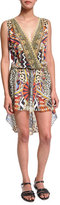 Camilla Embellished Coverup Dress, Bird's Eye View