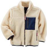 Carter's Boys 4-8 Sherpa Fleece Jacket