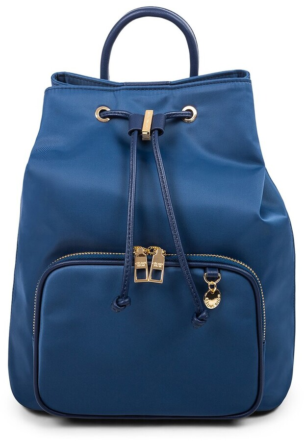 Celine Dion Nylon & Leather Backpack
