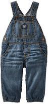 Osh Kosh Jersey-Lined Denim Overalls - Heritage Indigo