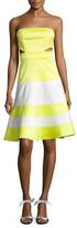Alexis Simona Strapless Flare Dress
