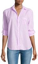 Frank And Eileen Eileen Button-Front Shirt, Pink