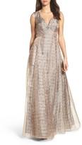 Aidan Mattox Women's Embellished Gown