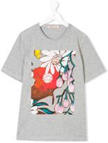 Marni Teen floral-print T-shirt