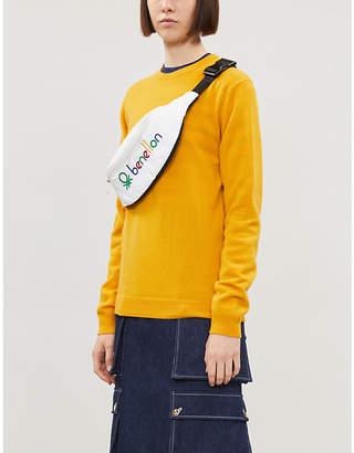 Benetton Round-neck cashmere jumper