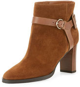Jimmy Choo Hose Suede 80mm Bootie