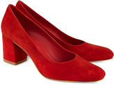 Maryam Nassir Zadeh Red Suede Maryam Pumps