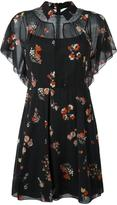 RED Valentino floral print sheer dress - women - Silk/Polyamide/Spandex/Elastane - 42