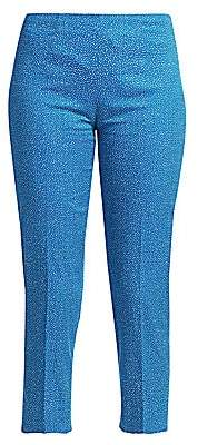 Piazza Sempione Women's Audrey Micro Dot Cropped Pants