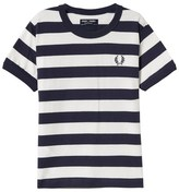 Fred Perry Striped Ringer Tee