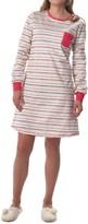 Calida Fresh Lemonade Soft Cotton Nightgown - Long Sleeve (For Women)