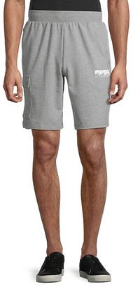 Puma Regular-Fit Cotton-Blend Shorts