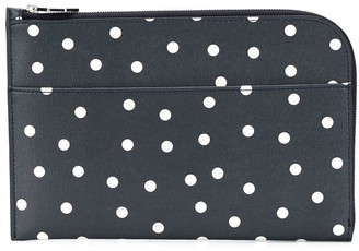 Ganni Polka Dot Clutch