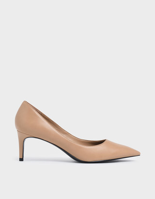 Charles & Keith Classic Pointed Toe Pumps
