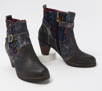 Spring Step L'Artiste by Leather Ankle Boots - Nancies