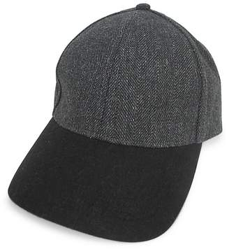 London Fog Herringbone Baseball Cap