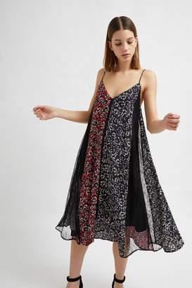 French Connenction Amerie Lace Mix Floral Dress