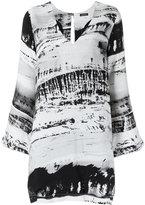 OSKLEN printed dress - women - Viscose - 38