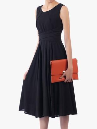 Jolie Moi Flared Belt Detail Dress