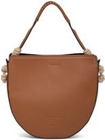 Prada cord detail shoulder bag