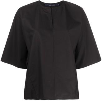 Sofie D'hoore Oversized Short-Sleeve Blouse