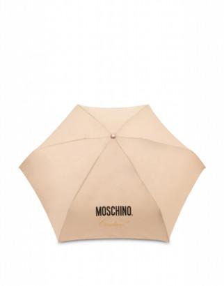 Moschino Couture Mini Umbrella Woman Beige Size Single Size