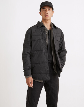 Madewell Quilted Shirt Jacket