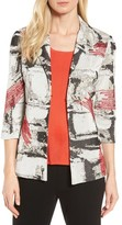 Ming Wang Women's Three-Quarter Sleeve Jacket