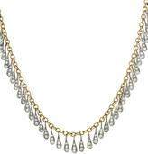 Cathy Waterman Diamond Teardrop Fringe Necklace