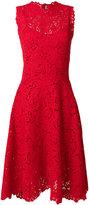 Ermanno Scervino high neck lace dress