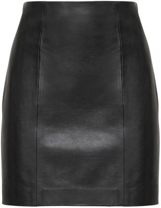 The Al Faith Leather Mini Skirt