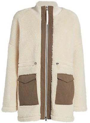 Varley Woodgrain Fleece Jacket