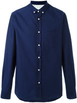 Officine Generale cotton down Oxford shirt