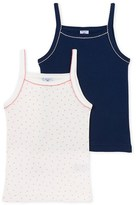 Petit Bateau Set of 2 girls camisoles